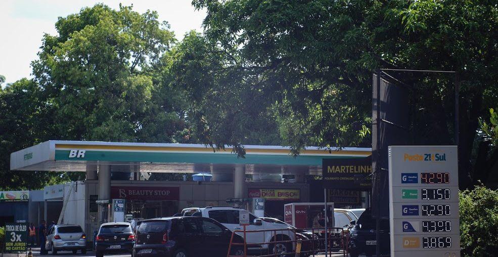preço da gasolina hoje
