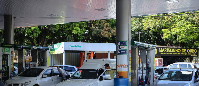 gasolina a preço de nota fiscal