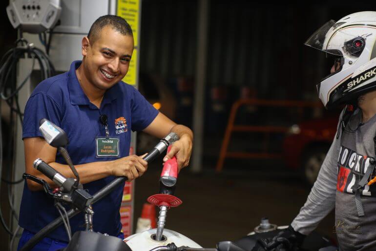 menor preço da gasolina